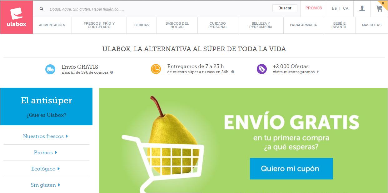 Ulabox, el ecommerce solidario