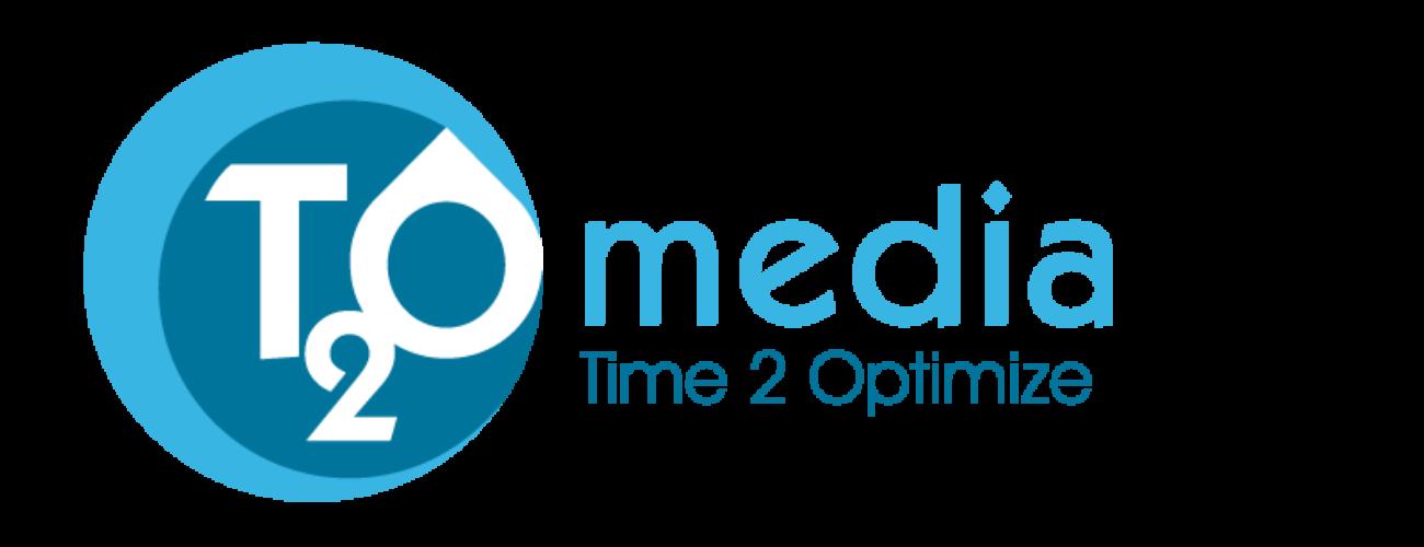 logo T2O media