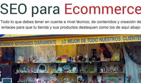 La guía SEO para ecommerce: un ebook de Jordi Ordóñez